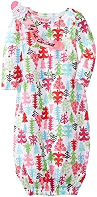 Baby Christmas Tree Layette for Infant Girls from Mud Pie