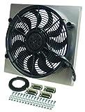 Derale Performance 16818 Gray/Black High Output Radiator Fan