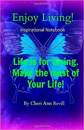 Enjoy Living: Inspirational Notebook