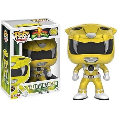 Funko POP TV: Power Rangers - Yellow Ranger Action Figure: Artist Not Provided: Toys & Games