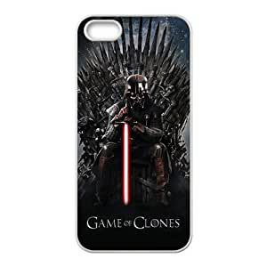Game of clones dark warrior Cell Phone Case for iPhone 5S by Maris's Diary