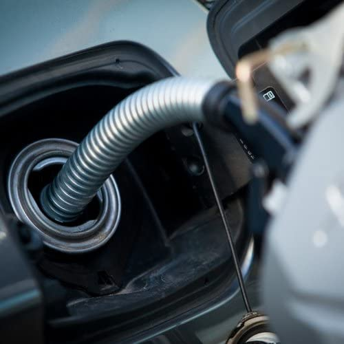 f/ür Benzin und Diesel Oxid7/® Benzinkanister Kraftstoffkanister Metall 20 Liter Schwarz mit UN-Zulassung Bauart gepr/üft T/ÜV Rheinland Zertifiziert