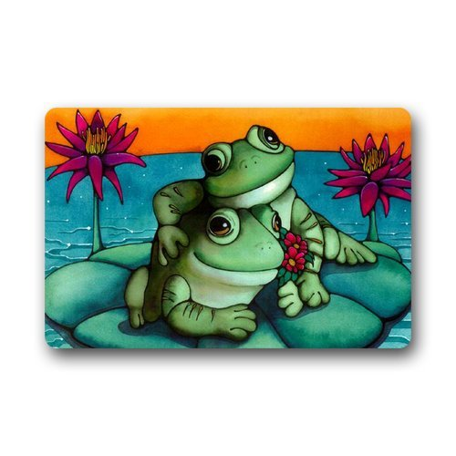 - Generic Customize New Fashion Design Frog Welcome Doormat Size 18