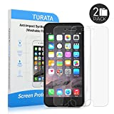galaxy note 4 edge case ultra - iPhone 6s Plus/iPhone 6 Plus Screen Protector - TURATA Premium Crystal Clear 2-Pack [Unique Material] [Ultra Thin] for iPhone 6 Plus/6s Plus Maximum Screen Protection from Bumps, Drops, Scrapes