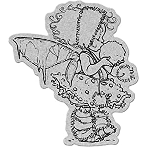 Penny black 40 179 winter fairy cling rubber for Rubber stamps arts and crafts