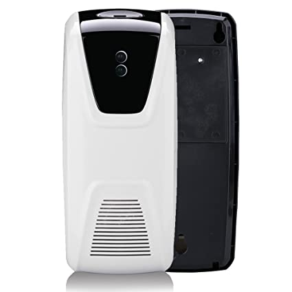 Anself Air Freshener Dispenser Automatic Light Sensor Use Oil or Perfume Refillable Aerosol Dispenser