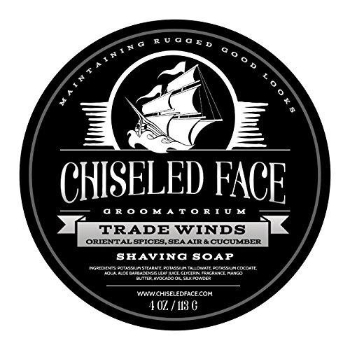 Trade Winds – Handmade Luxury Shaving Soap From Chiseled Face Groomatorium