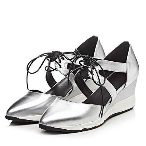 1TO9 - Sandalias de vestir para mujer plata