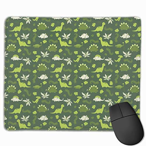Smooth Mouse Pad Green Dinos Mobile Gaming Mousepad