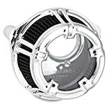 Arlen Ness 18-971 Chrome Method Clear Series Air Cleaner for 2008-2016 Harley-Davidson Touring Models