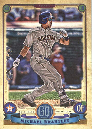 2019 Topps Qypsy Queen #54 Michael Brantley Houston Astros Baseball Card