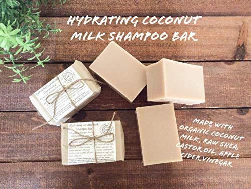 Coconut Milk/Apple Cider Vinegar Shampoo Bar (Apple Bar Organic)