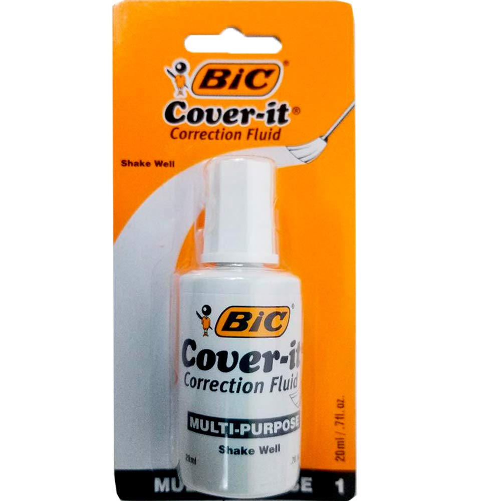BIC Wite out, Case Pack of 72, Ideal for Bulk Buyers by AUKSales