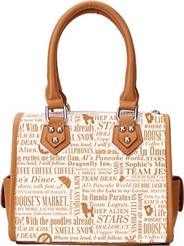 Gilmore Girls Inspired Handbag Purse Stars Hollow