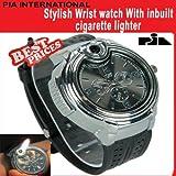 PIA INTERNATIONAL Black Dial Men's Watch