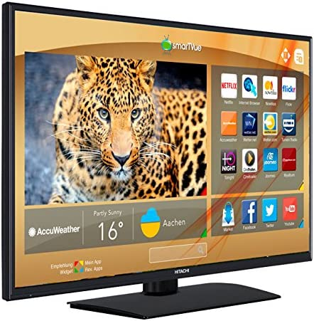 LED TV HITACHI 32 32HB4T41 / HD Ready/Smart TV/WiFi Ready/USB /.: Amazon.es: Electrónica