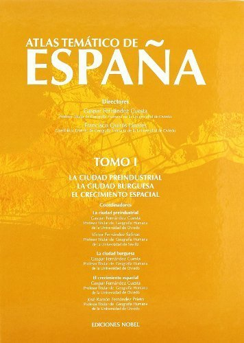 Atlas temático de España. Tomo I: Amazon.es: Fernández Cuesta , Gaspar, Quirós Linares , Francisco: Libros