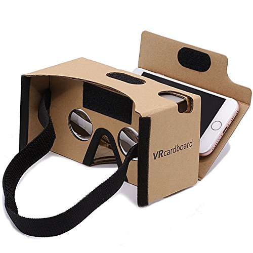 Google-CardboardGANA-3D-VR-Headset-Virtual-Reality-DIY-Glasses-Box-with-Big-Clear-3D-Optical-Lens-and-Comfortable-Head-Strap-Sucker-Forehead-Pad-Nose-Pad-for-All-35-6-Inch-Smartphones
