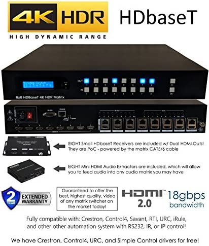SWITCHER Receivers Audio CONTROL4 Automation