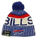 Men's New Era Men's Bills New Era 2017 Sideline Official Sport Knit Hat Royal Size One Size