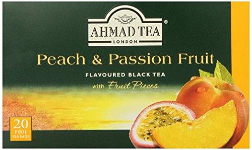 2-Pack Ahmad Tea Peach and Passion Fruit Black (Ahmad Peach)