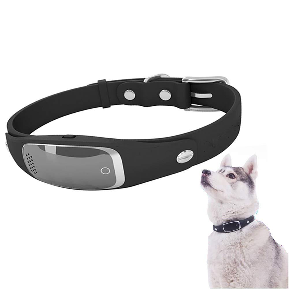 Black Dogs GPS Location Activity Trackers Dog GPS Tracker Collar(with English Manual)