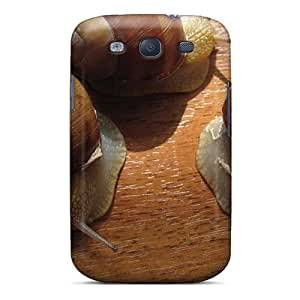 New Diy Design Snails For Galaxy S3 Cases Comfortable For Lovers And Friends For Christmas Gifts