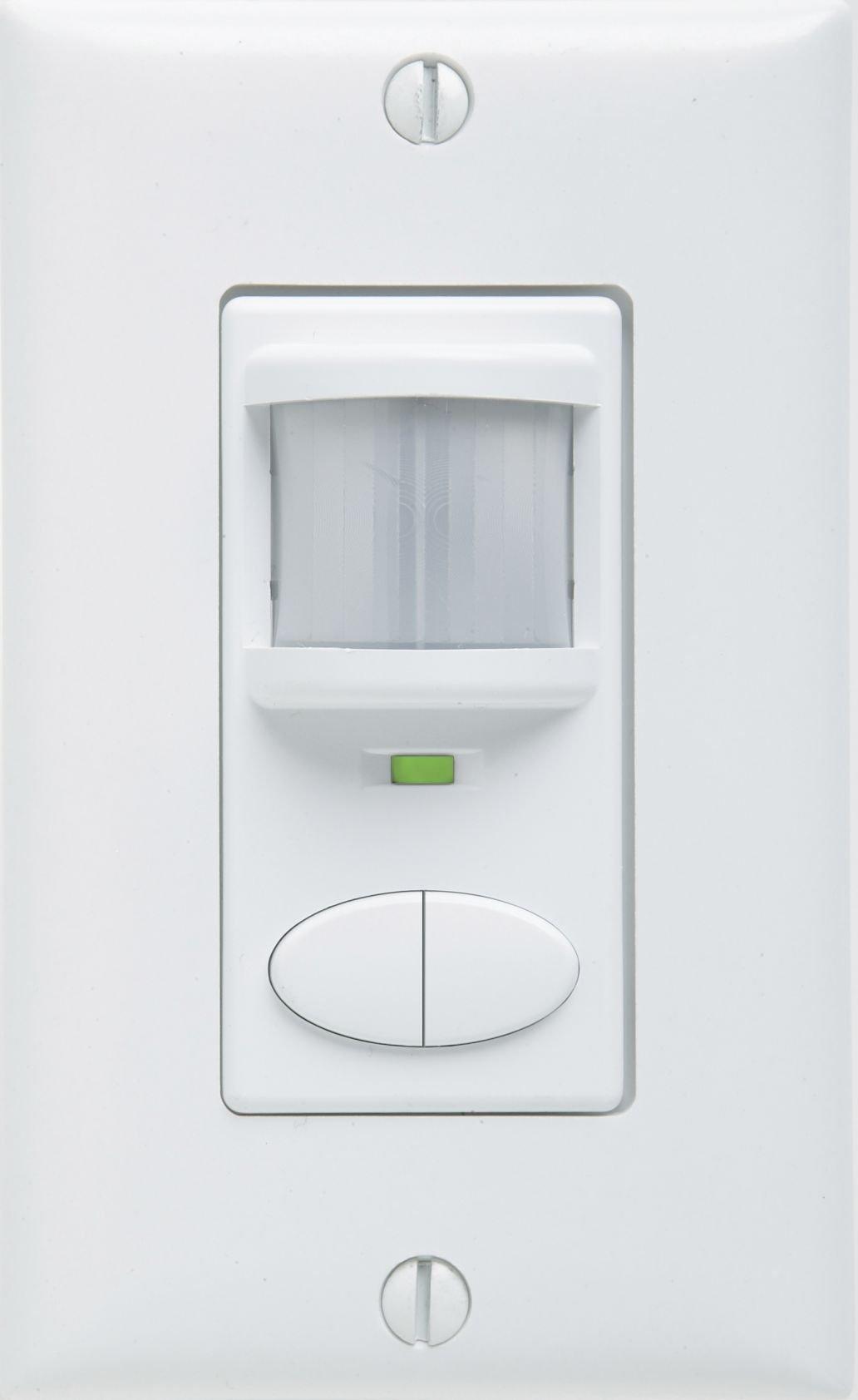 Sensor Switch WSD 2P WH Control Wall Switch Sensor, White