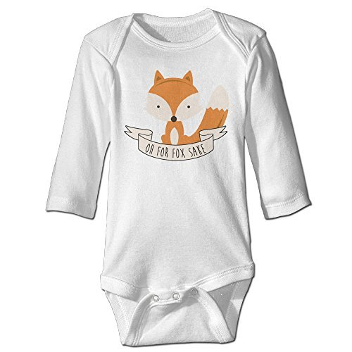Funny Vintage Unisex Oh For Fox Sake Triangle Romper - Plaza Tampa
