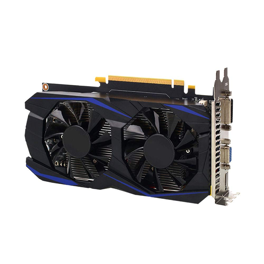 AOLUNO GTX960 Game Graphics Card Premium 128Bit Cooling Fan HD Video Cooler by AOLUNO
