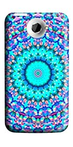 ARABESQUE HTC ONE X 3D Protective Cover Case by Lilyshouse by ruishername