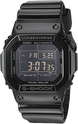 Casio Men's G-Shock Quartz Watch with Resin Strap, Black, 24.4 (Model: GW-M5610BB-1CR) (Casio Efa 119bk 1avdr Erkek Kol Saati)