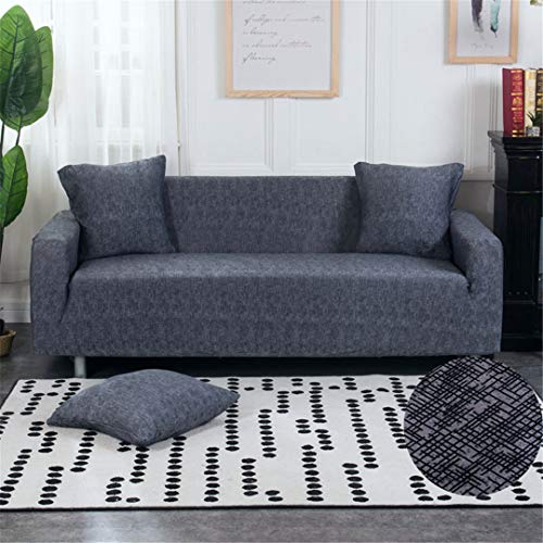 (Ranferuyk Sofa Cover Stretch Couch Cover Elastic Sofa Cover for Living Room Sofa Loveseat Sofa Color 17 1-seat 90-140cm)
