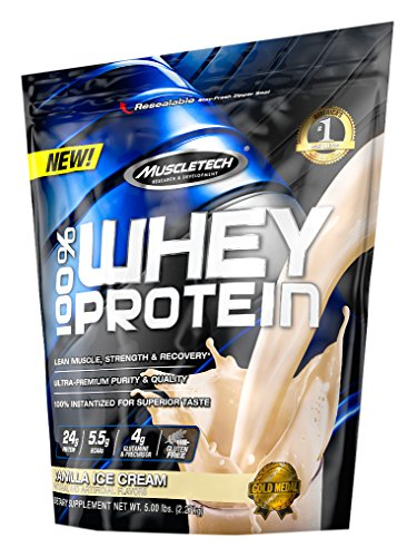 MuscleTech Protein Powder Vanilla Cream