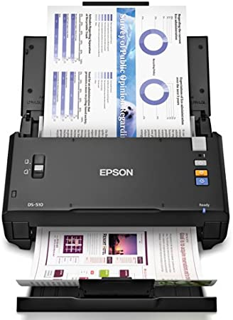 Renewed Epson WorkForce DS-560 Wireless Color Document Scanner for PC and Mac ADF Auto Document Feeder Duplex Scanning