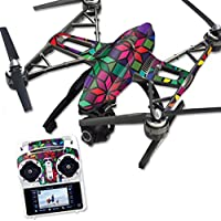 Skin For Yuneec Q500 & Q500+ Drone – Stained Glass Window | MightySkins Protective, Durable, and Unique Vinyl Decal wrap cover | Easy To Apply, Remove, and Change Styles | Made in the USA