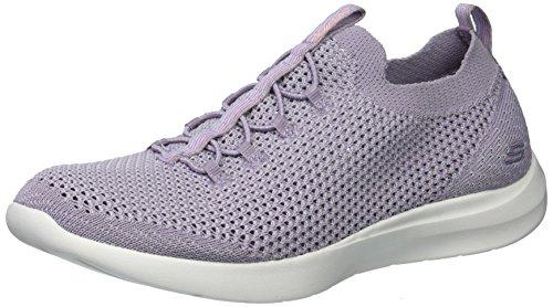 Life Line Color Mujer Púrpura Deportivo Marca Skechers Calzado Modelo Blanco Para Deportivo Para Mujer Calzado Blanco Studio Comfort FZSwq16