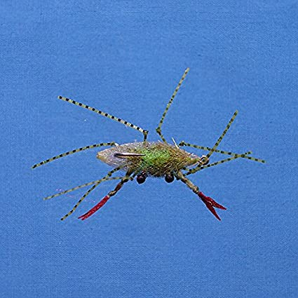 2 Pack Enrico Puglisi Bonefish Permit Fly EP Floating Crab Fly