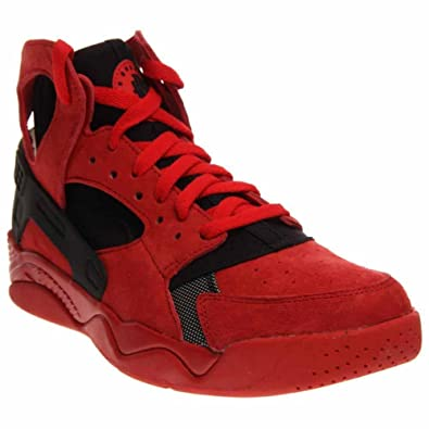 cb2a7511bf3 Mens Nike Air Flight Huarache University Red Black 705005-600 US 11.5