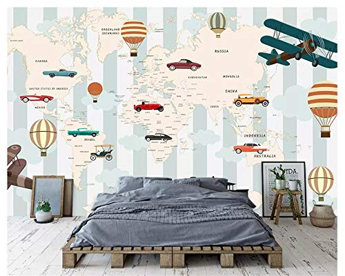 Mbwlkj Customized Modern Silk Crepe Fashion Interior Decoration Painting3D Wallpaper Stereo Map Background -400cmx280cm
