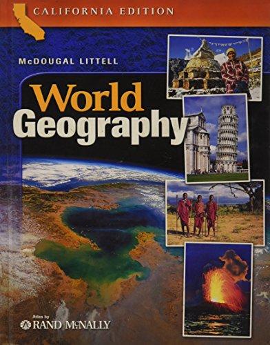 McDougal Littell World Geography, California Edition