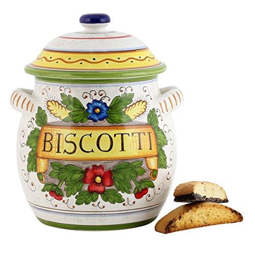 RUSTICA: Traditional Tuscan Biscotti Jar