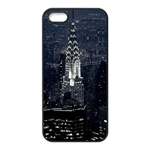 New York City Collage Design Solid Rubber Customized Cover Case for iPhone 5 5s 5s-linda87