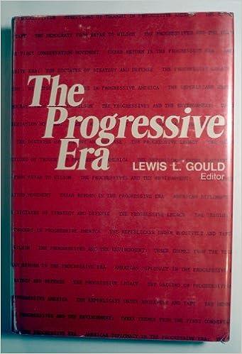 Book The Progressive Era.