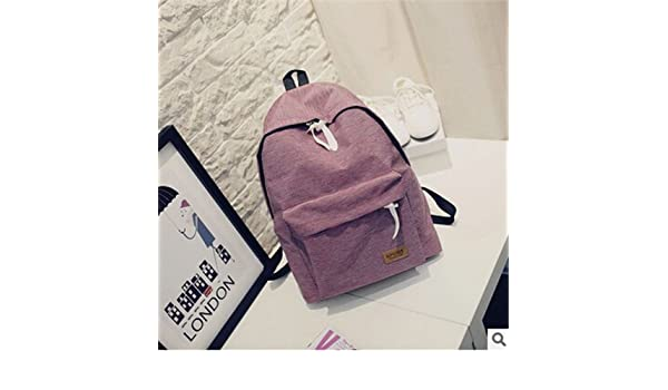 Amazon.com: 2017 Women Canvas Backpacks Ladies Shoulder School Bag Rucksack For Girls Travel Fashion Bag Bolsas Mochilas Sac A Dos: Clothing
