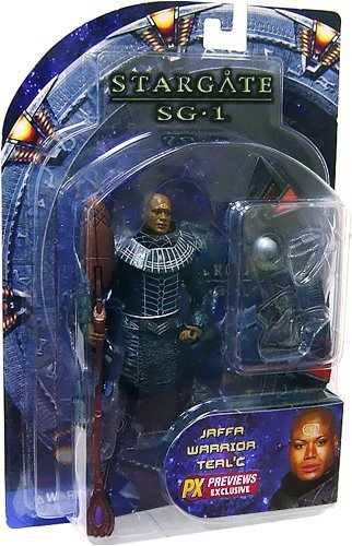 Stargate Jaffa Tealc Action Figure by Diamond Select