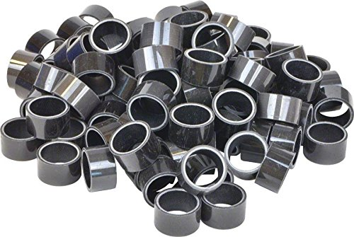 Wheels Manufacturing Bulk Headset Spacers 1-1/8 x 15mm Carbon Bag of 100