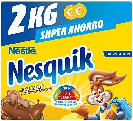 Nesquik Cacao Soluble 2 Kg Amazon Es Alimentación Y Bebidas