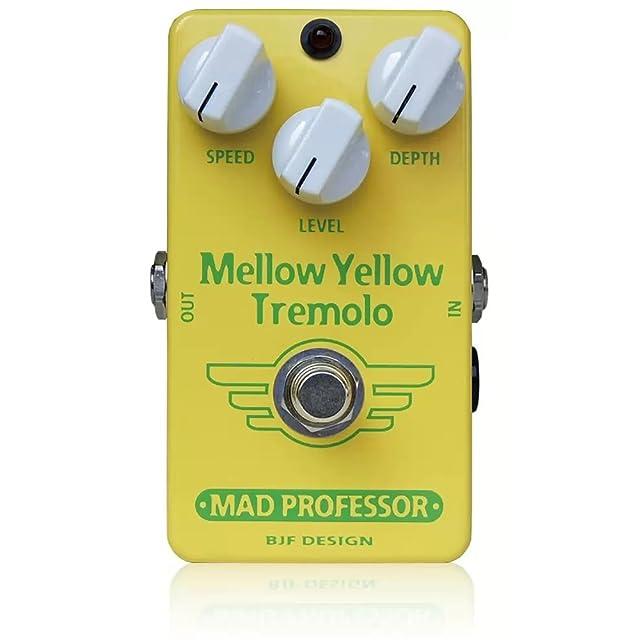 エフェクター画像 MAD PROFESSOR Mellow Yellow Tremolo