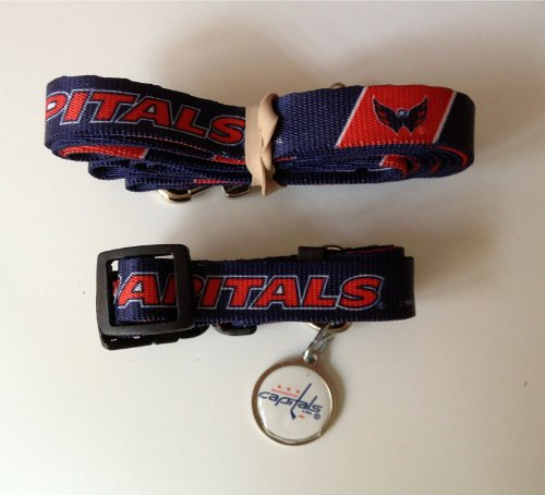 Hunter Washington Capitals Pet Combo (Includes Collar, Lead, ID Tag), X-Small